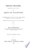Original Treatises Dating From The Xiith To The Xviiith Centuries O N The Arts Of Painting