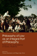 Philosophy of Law as an Integral Part of Philosophy [Pdf/ePub] eBook