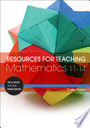 Resources For Teaching Mathematics 11 14