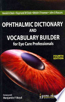 Ophthalmic Dictionary And Vocabulary Builder Book PDF