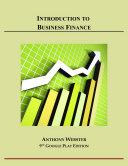 Introduction to Business Finance Pdf/ePub eBook
