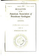 Bulletin of the American Association of Petroleum Geologists