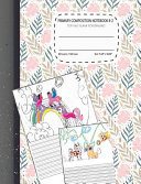 Primary Composition Notebook K 2 Top Half Blank for Drawing