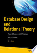 book cover: Database Design and Relational Theory