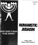 Humanistic Judaism