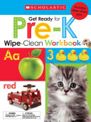 Wipe Clean Workbooks  Get Ready for Pre K  Scholastic Early Learners
