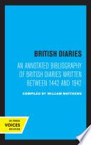 British Diaries