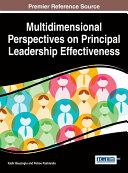 Multidimensional Perspectives on Principal Leadership Effectiveness Pdf/ePub eBook