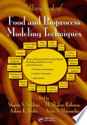 Handbook of Food and Bioprocess Modeling Techniques Book