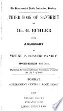 Third Book of Sanskrit