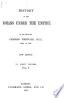 History of the Romans Under the Empire Book