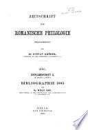 Romanische Bibliographie