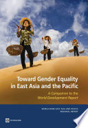 Toward Gender Equality in East Asia and the Pacific