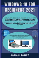 Windows 10 for Beginners