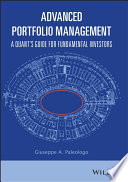 Advanced Portfolio Management Book