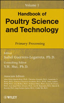 Pdf Handbook of Poultry Science and Technology, Primary Processing Telecharger
