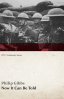 Now It Can Be Told (WWI Centenary Series) Pdf/ePub eBook