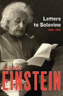 Letters to Solovine