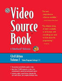 The Video Source Book  Video program listings C E