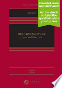 """Modern Family Law: Cases and Materials"" by D. Kelly Weisberg"