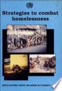 Strategies To Combat Homelessness