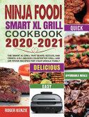 Ninja Foodi Smart Xl Grill Cookbook 2020 2021