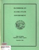 Handbook on Alaska State Government Book
