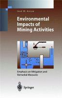 Environmental Impacts of Mining Activities