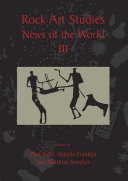 Pdf Rock Art Studies - News of the World Volume 3 Telecharger