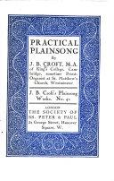 Practical Plainsong Book