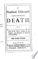 A Practical Discourse concerning Death     The tenth edition Book