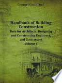 Handbook Of Building Construction Book PDF