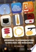 Broadband Telecommunications Technologies and Management Book PDF