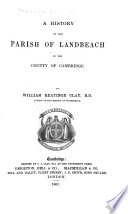 A History of the Parish of Landbeach in the County of Cambridge