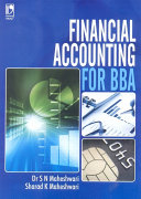 Pdf Financial Accounting for BBA