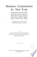 Business Corporations in New York