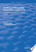 Handbook of Nonmedical Applications of Liposomes