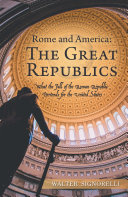 Rome and America: the Great Republics
