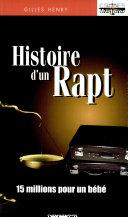 Histoire d'un rapt