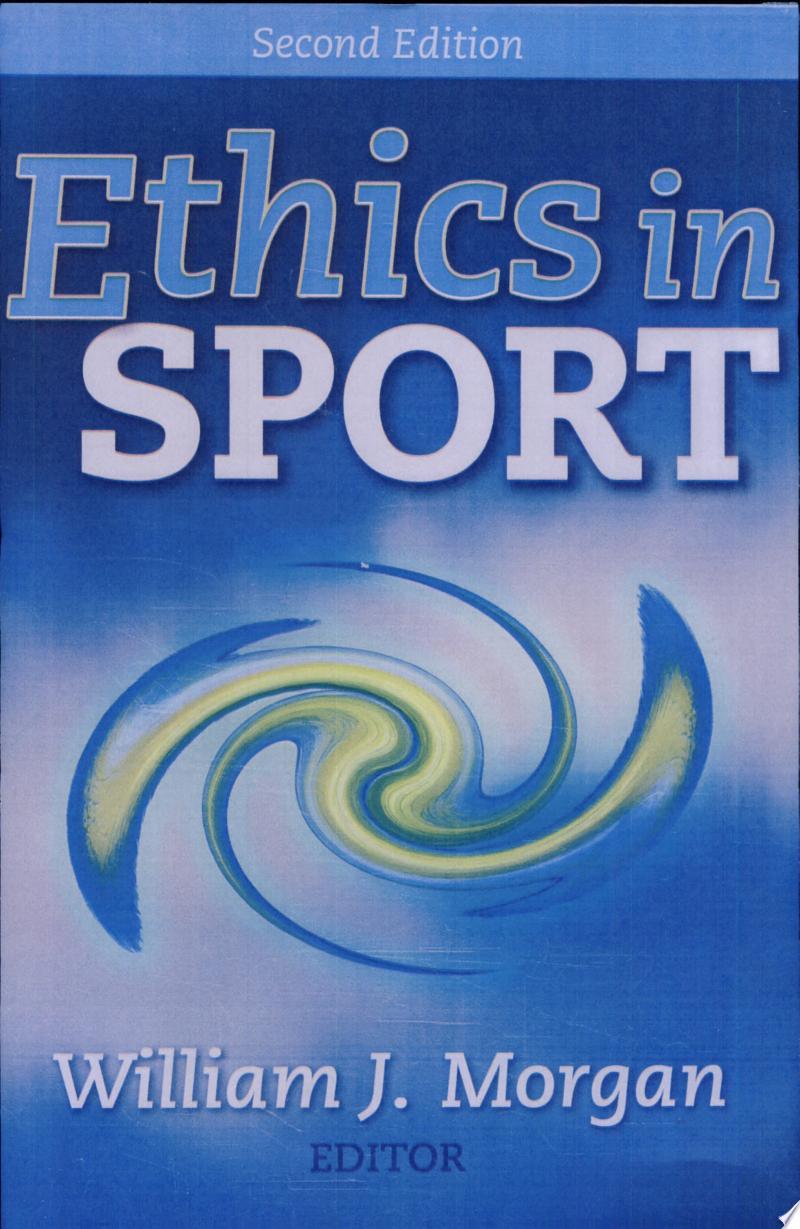 Ethics in Sport banner backdrop