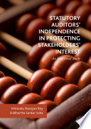 Statutory Auditors' Independence in Protecting Stakeholders' Interest