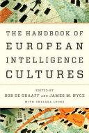 Thumbnail Handbook of european intelligence cultures