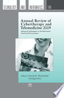 Annual Review Of Cybertherapy And Telemedicine 2009 Book PDF