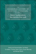 Edinburgh History of Scottish Literature: Modern Transformations: New Identities (from 1918) [Pdf/ePub] eBook