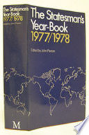 The Statesman S Year Book 1977 78