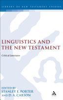 Linguistics and the New Testament