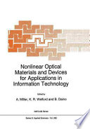 Nonlinear Optical Materials and Devices for Applications in Information Technology
