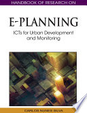 Handbook Of Research On E Planning Icts For Urban Development And Monitoring