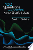 100 Questions  and Answers  About Statistics