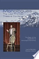 Monologues from The Last Frontier Theatre Conference Book